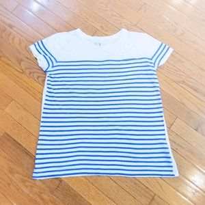 A/X striped pocket tee with short sleeves - EUC
